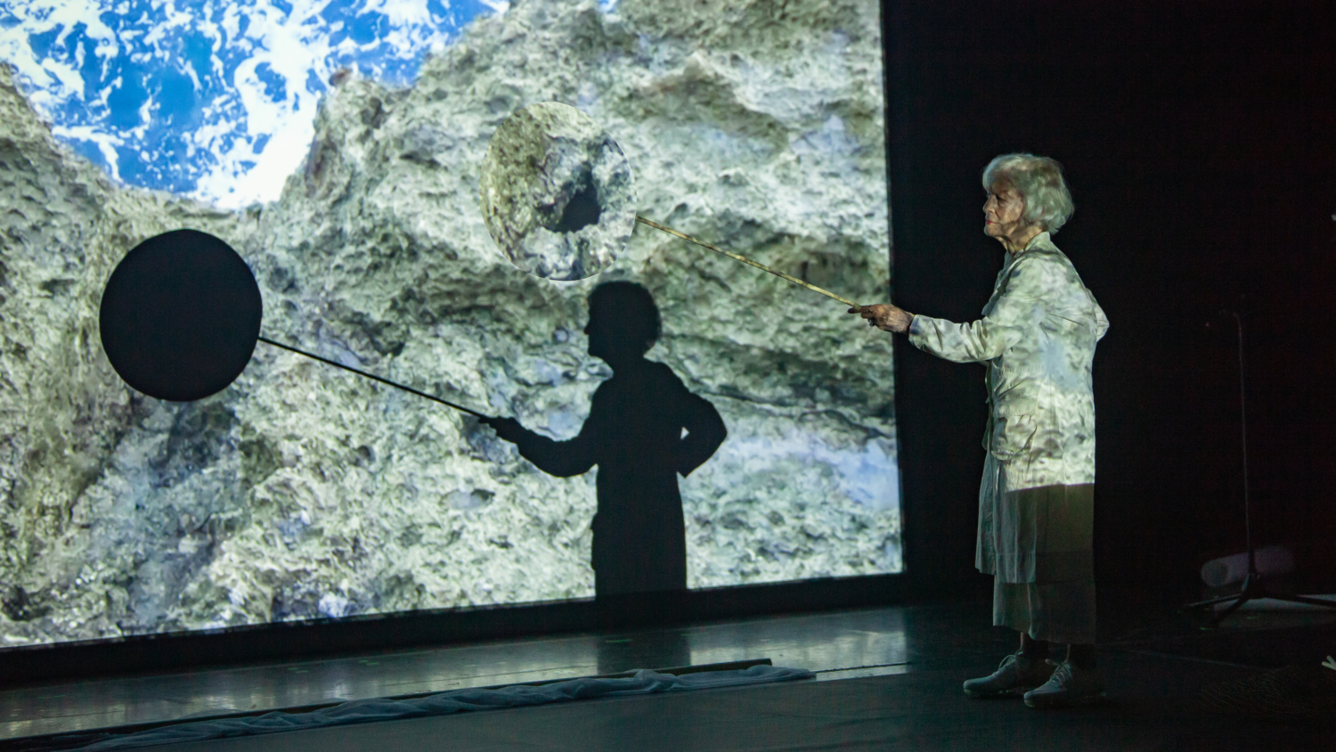 Joan Jonas, Moving Off the Land, 2016/2018, Cowell Theater, Fort Mason Center for Arts & Culture, San Francisco, 2019.